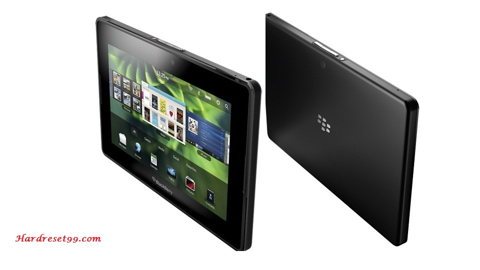 BlackBerry Playbook Wi-Fi Hard reset - How To Factory Reset