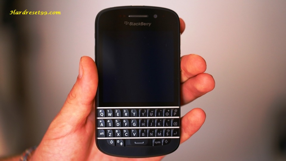 BlackBerry Q10 Hard reset - How To Factory Reset