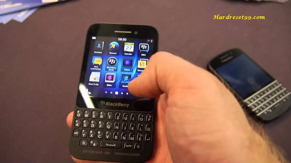 BlackBerry Q5 Hard reset - How To Factory Reset