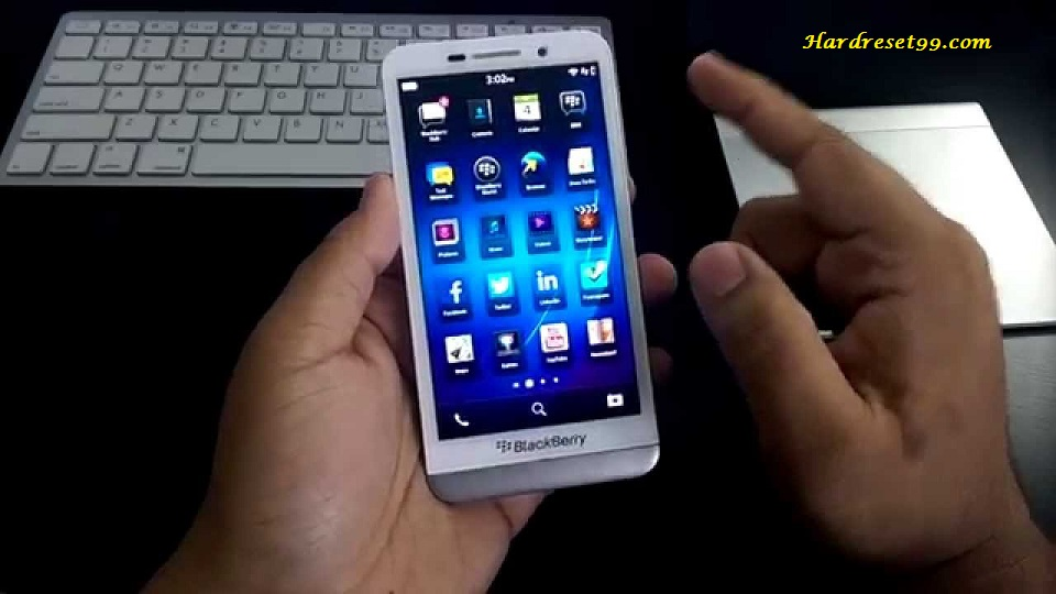 BlackBerry Z30 Hard reset - How To Factory Reset