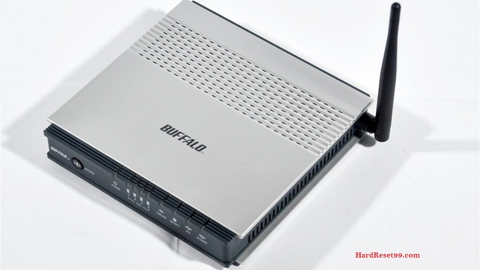 Buffalo WBMR-G125 Router - How to Reset to Factory Settings