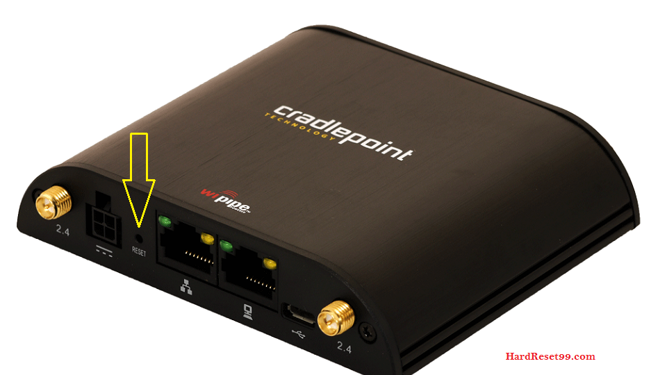 Cradlepoint Router Factory Reset – List