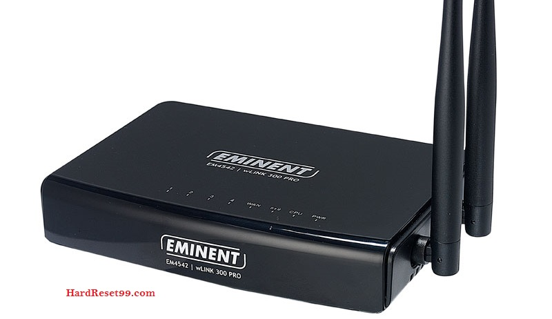Eminent Router Factory Reset – List
