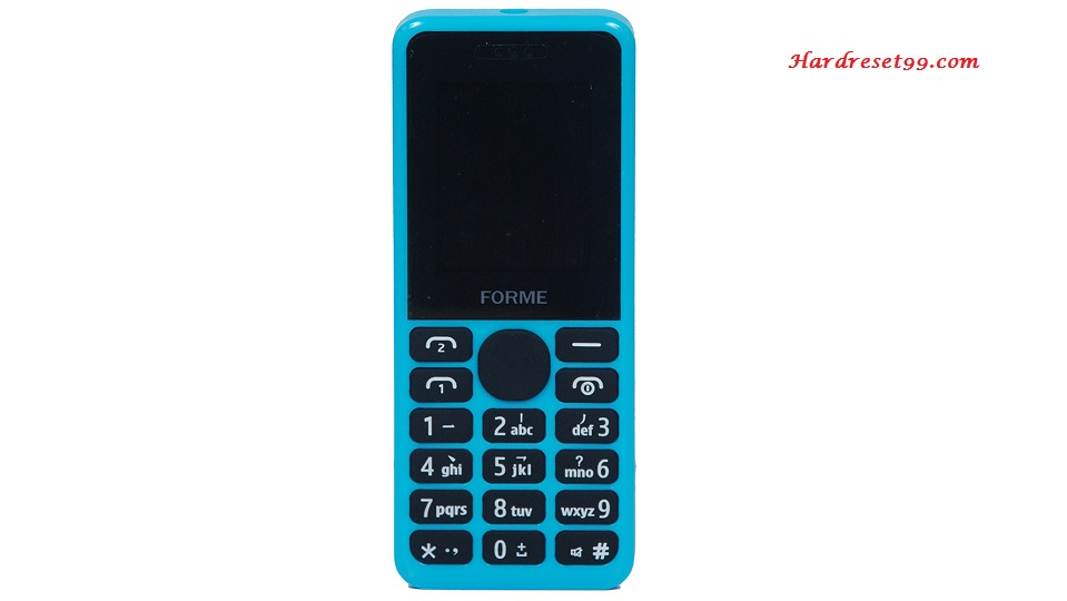 Forme C103 Hard reset - How To Factory Reset