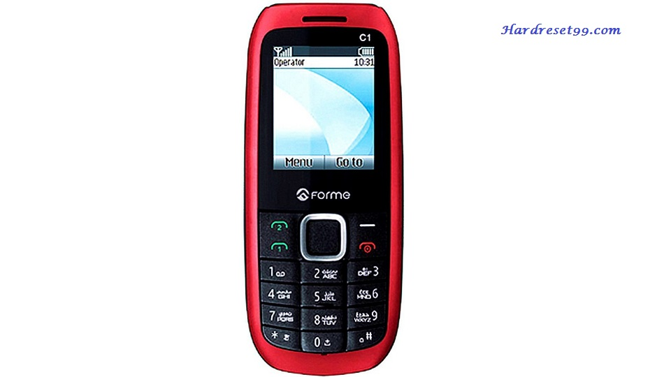 Forme Cute C1 Hard reset - How To Factory Reset
