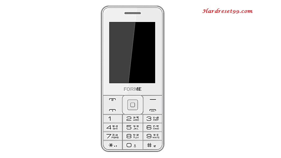 Forme F Fone Hard reset - How To Factory Reset