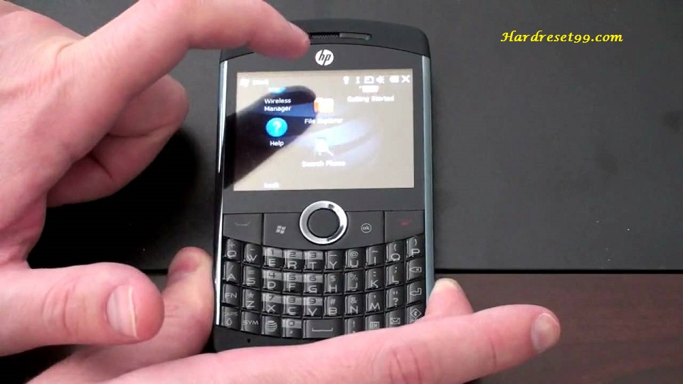 HP iPAQ Glisten Hard reset - How To Factory Reset