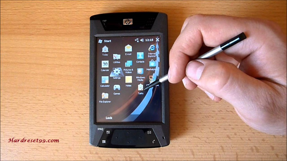 HP iPAQ hw6915 Hard reset - How To Factory Reset