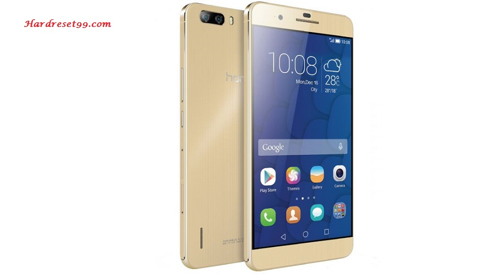 Honor 6 Plus 4G Hard reset - How To Factory Reset