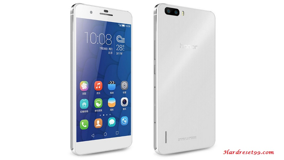 Honor 6 Hard reset - How To Factory Reset