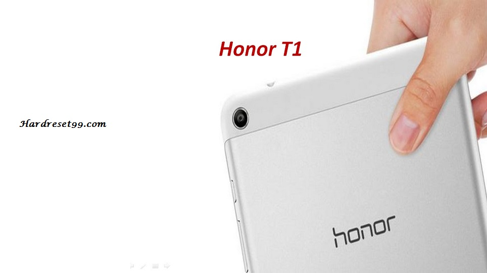 Honor T1 Hard reset - How To Factory Reset