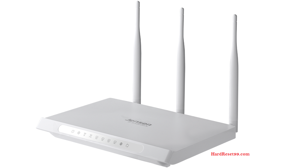 Jensen-Scandinavia Router Factory Reset – List