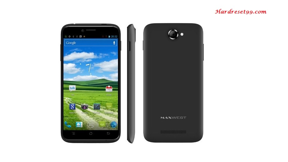 Maxwest Android 320 Hard reset - How To Factory Reset