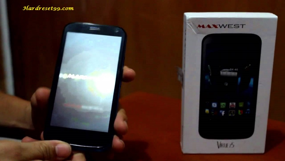 Maxwest Astro 5 Hard reset - How To Factory Reset