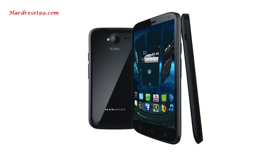 Maxwest Virtue Z5 Hard reset - How To Factory Reset