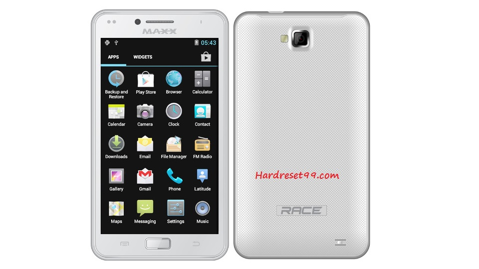 Maxx AX8 Hard reset - How To Factory Reset