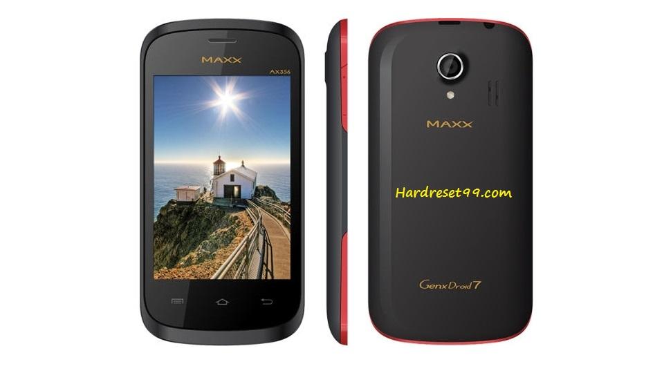 Maxx GenxDroid7 AX352 Hard reset - How To Factory Reset