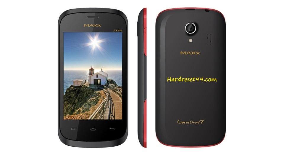 Maxx GenxDroid7 AX356 Hard reset - How To Factory Reset