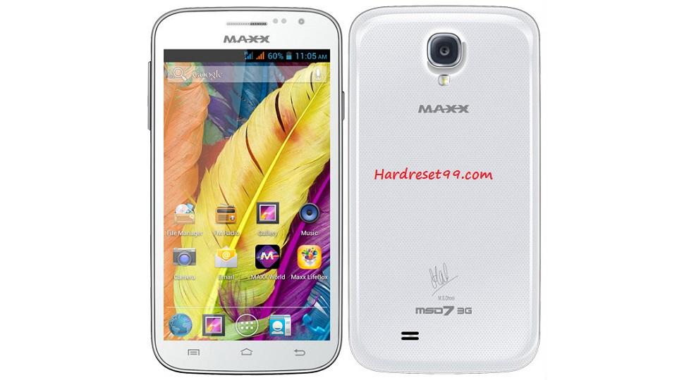 Maxx MSD7 3G AX51 Hard reset - How To Factory Reset