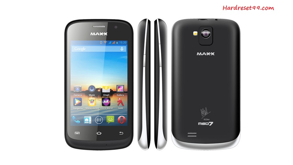 Maxx MSD7 AX46 Hard reset - How To Factory Reset