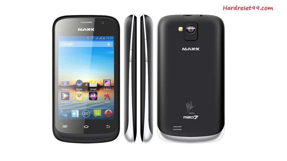 Maxx MSD7 Android 3.5 Hard reset - How To Factory Reset
