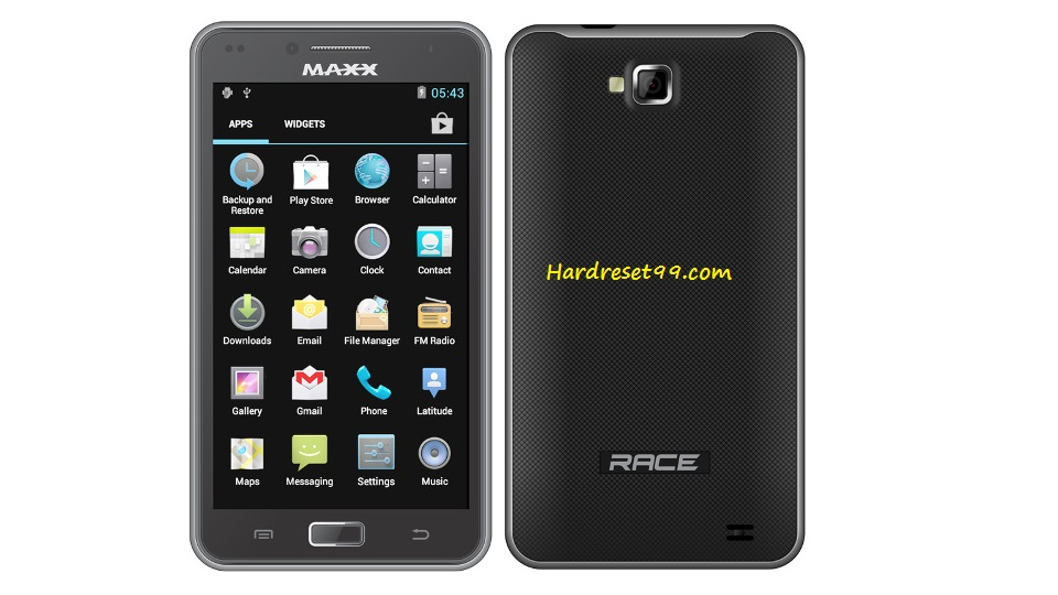 Maxx Race AX9Z Hard reset - How To Factory Reset