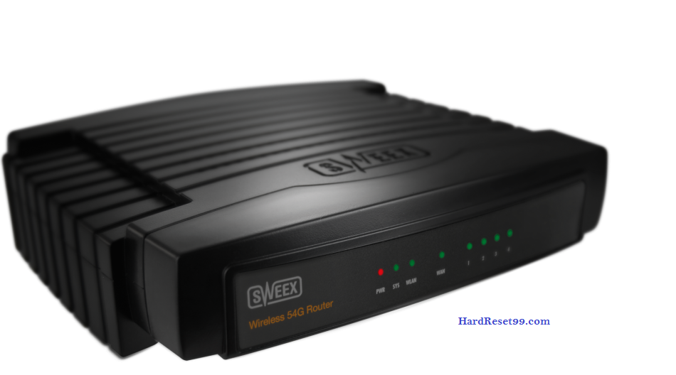Sweex Router Factory Reset – List