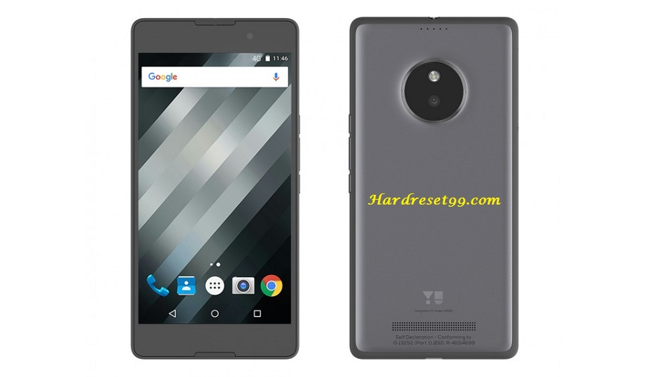 YU Yureka S Hard reset - How To Factory Reset