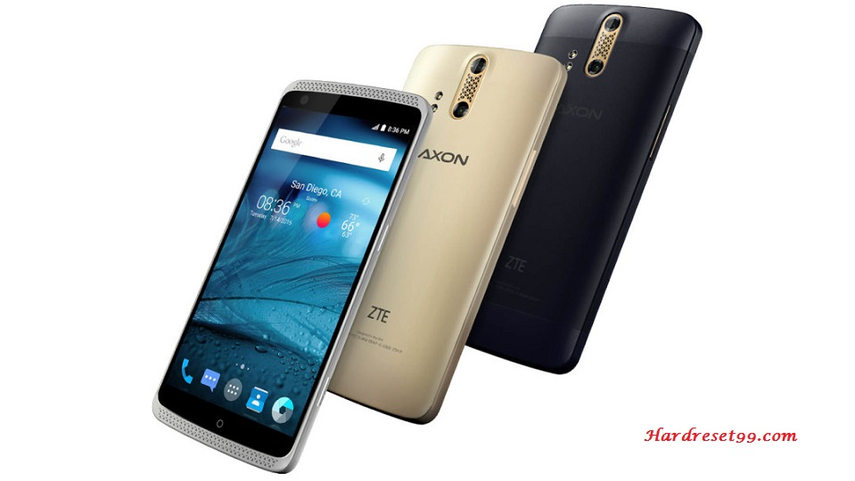 ZTE Axon Hard reset - How To Factory Reset