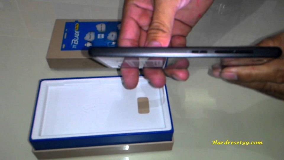 ZTE Blade Vec 3G Hard reset - How To Factory Reset