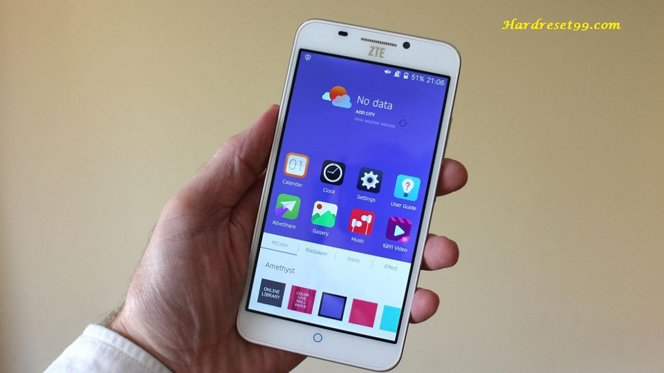 ZTE Grand S Pro Hard reset - How To Factory Reset