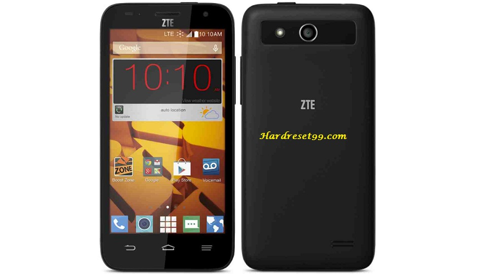 ZTE Speed Hard reset - How To Factory Reset
