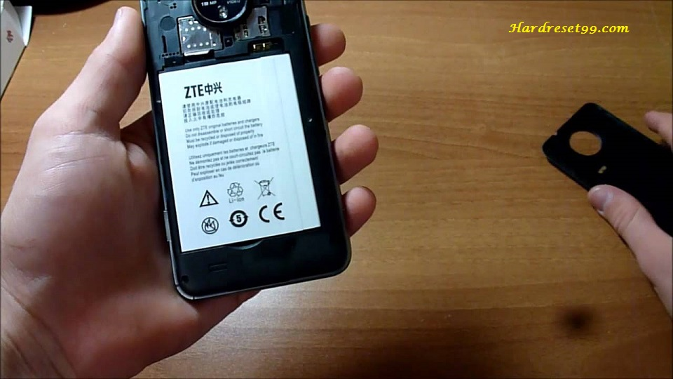 ZTE Supreme Hard reset - How To Factory Reset