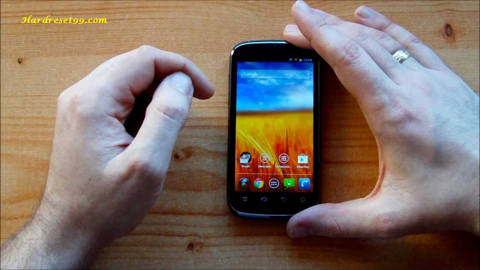 ZTE V3 Hard reset - How To Factory Reset
