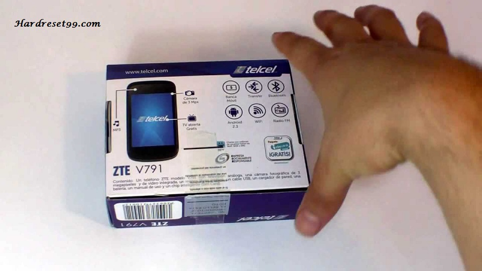 ZTE V791 Hard reset - How To Factory Reset