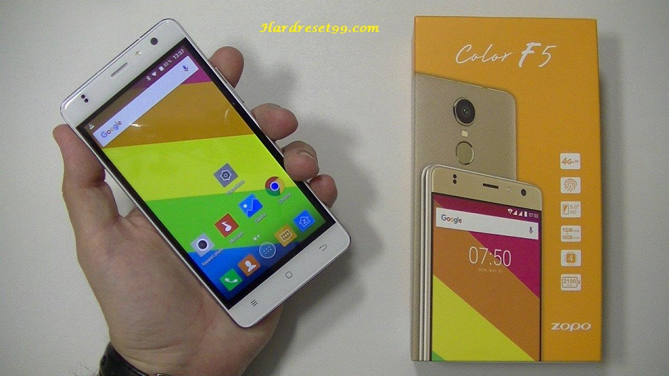 Zopo Color F1 Hard reset - How To Factory Reset