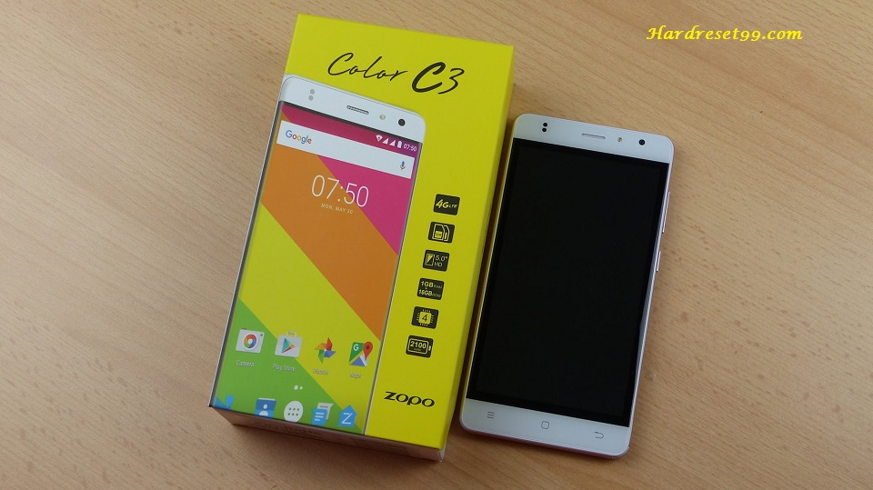 Zopo Color F5 Hard reset - How To Factory Reset