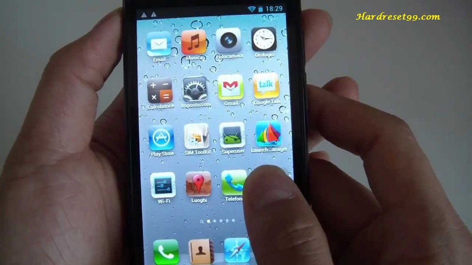 Zopo ZP100 Hard reset - How To Factory Reset