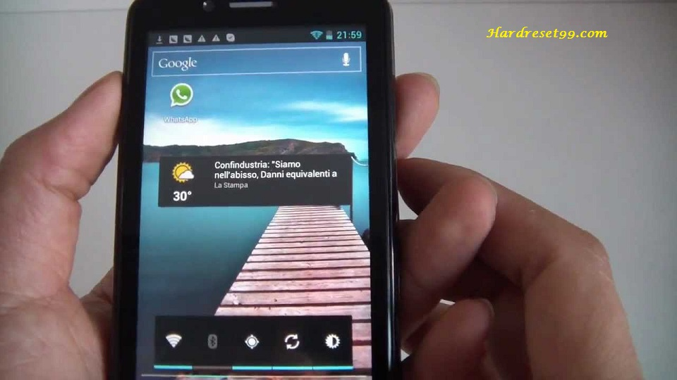 Zopo ZP200 Hard reset - How To Factory Reset