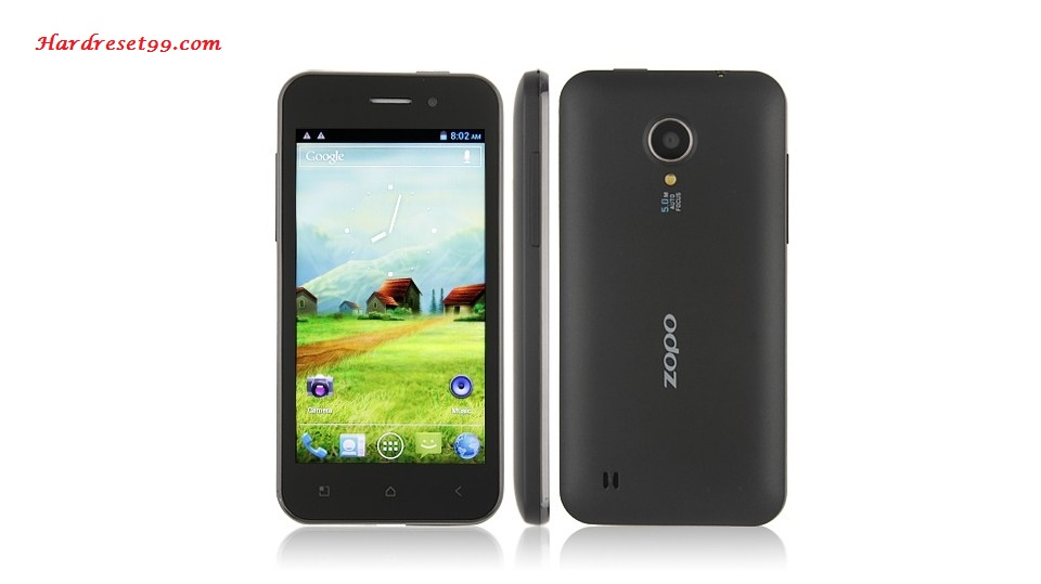 Zopo ZP300 Plus Hard reset - How To Factory Reset