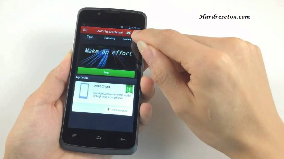 Zopo ZP590 Hard reset - How To Factory Reset