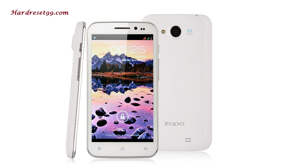 Zopo ZP810 Hard reset - How To Factory Reset