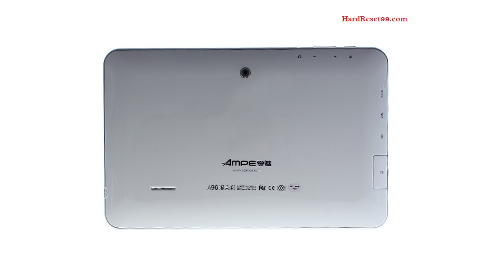 AMPE A96 Elite Hard reset - How To Factory Reset