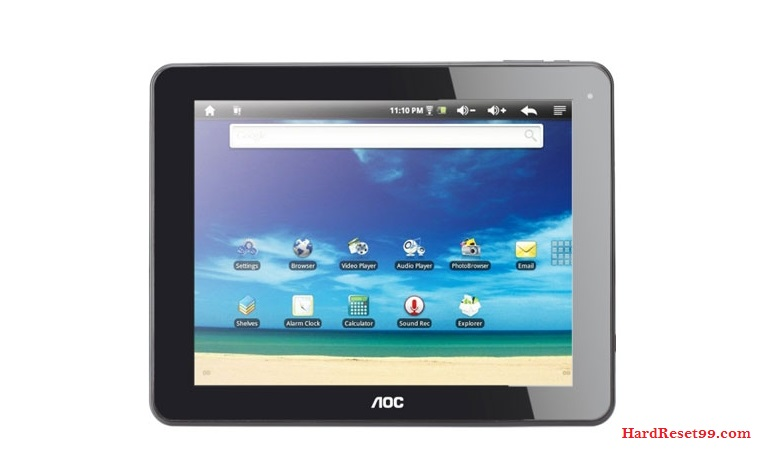 AOC MG97DR-16 Breeze Tab 9.7 Hard reset - How To Factory Reset