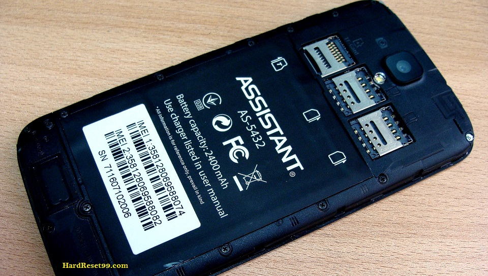 ASSISTANT AS-5432 Agio Hard reset - How To Factory Reset