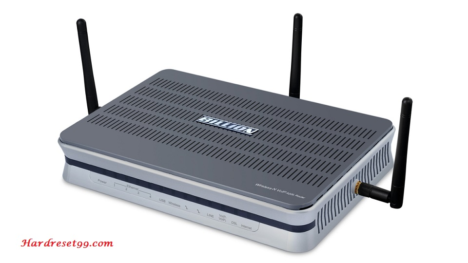 Billion BiPAC-7404VNOX Router - How to Reset to Factory Settings
