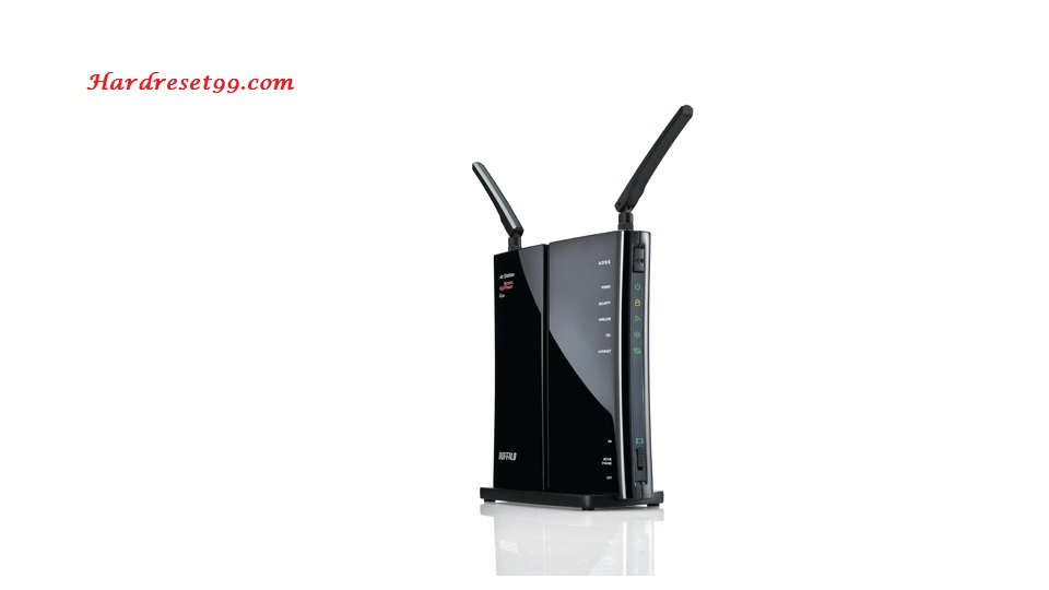 Buffalo WBMR-HP-G300H Router - How to Reset to Factory Settings