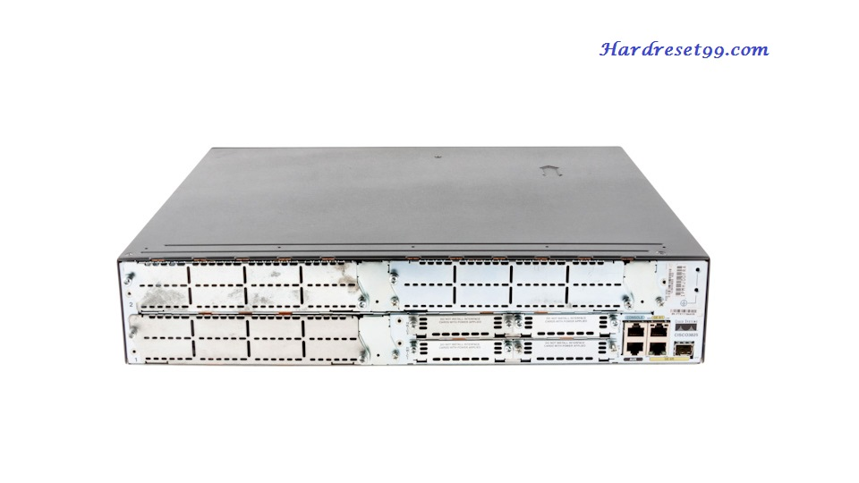 CISCO 3825 Router - How to Reset to Factory Defaults Settings