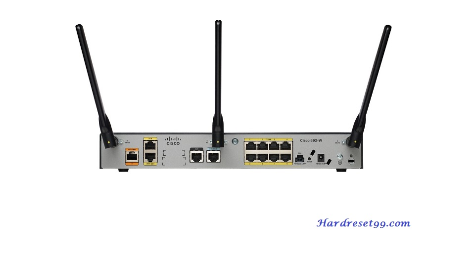 CISCO 892FSP Router - How to Reset to Factory Defaults Settings
