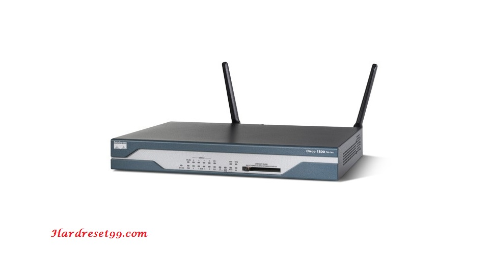 Cisco 1802 Router - How to Reset to Factory Defaults Settings